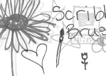 Ink Scribbles 10