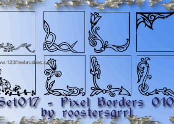 Ornate Border Corners 5