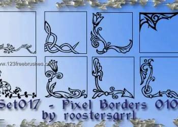 Ornate Border Corners 5