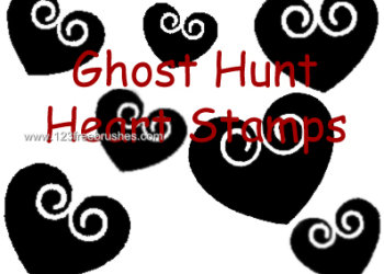 Ghost Hunt Stamps