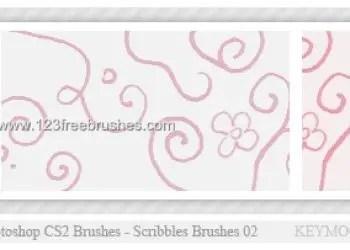 Ink Scribbles Set 11