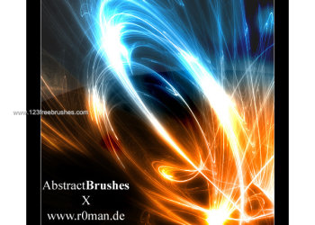 Free Abstract Brush Set – 10