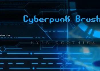 Abstract Hg Cyberpunk