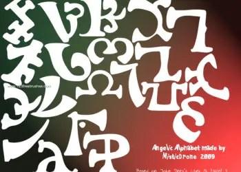 Alphabet of the Angelic Language