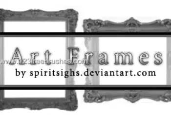 Art Nouveau Picture Frames