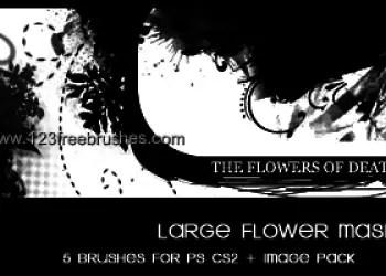 Floral Large Mask