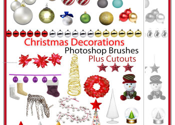 Christmas Decorations Cutouts