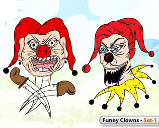 Funny Clowns -