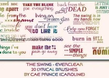 Everclear the Swing Lyrics