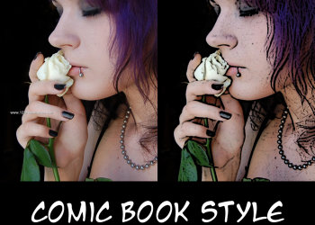 Comic Book Photoshop