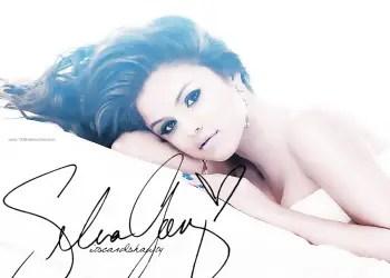 Selena Gomez Autograph