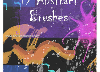 Abstract Brushes High Resolution