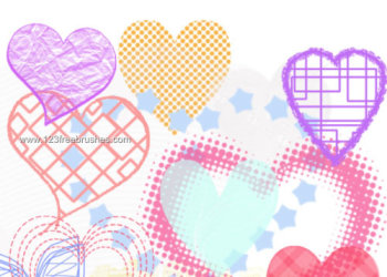 Abstract Heart Designs