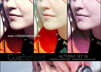 Guebehind Actions Set