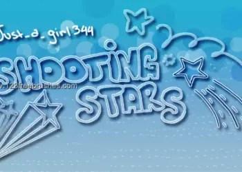 Shooting Star Scribbles