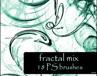 Abstract Brushes Illustrator