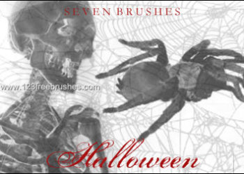Halloween Brushes For Photoshop Cs5