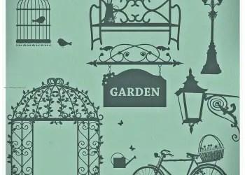 Romantic Vintage Garden