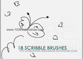 Ink Scribbles Set 16