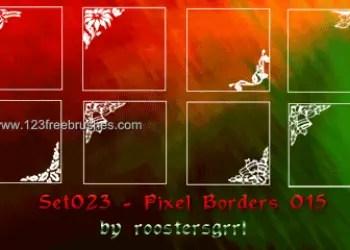 Ornate Border Corners 10
