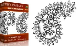 Sketchy Paisley