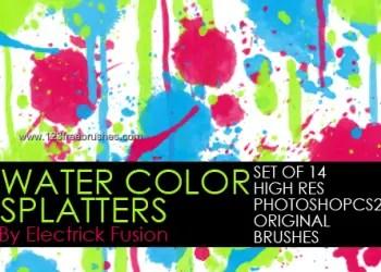 Water Color Splatter