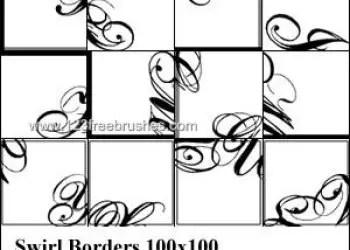 Swirl Borders