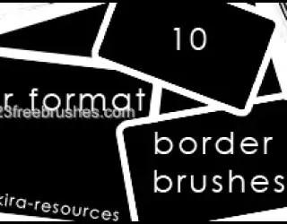 Polaroid Frames Set 10
