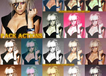 Photoshop Color Effect Actions