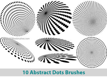 Abstract Dots Brushes for Photoshop