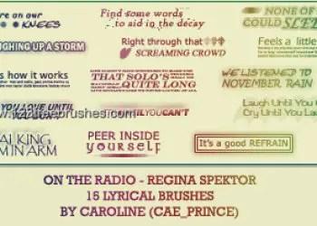 On the Radio – Regina Spektor Lyrics