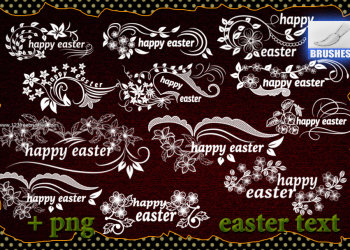 Happy Easter Text