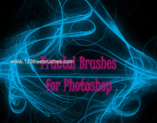 Abstract Brushes Set