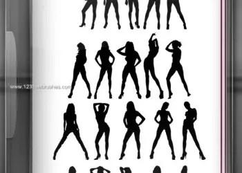 20 Silhouettes Feminine