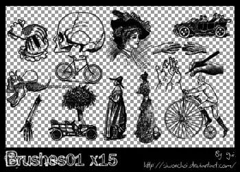 Vintage Cars – Cycles – People