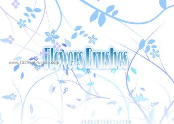 Flower Brushes For Photoshop Cs5
