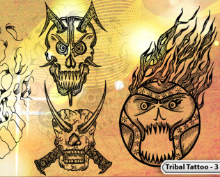 Vol.3 : Tattoo Tribal Designs