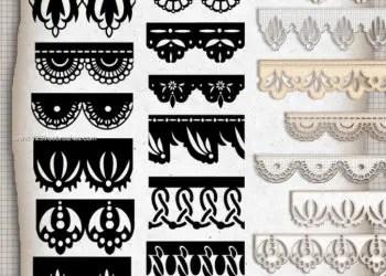 Paper Borders Decoration