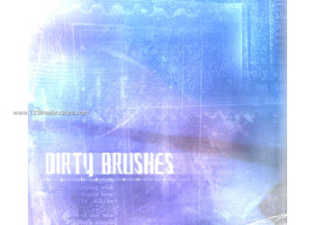Dirty Free Photoshop Brushes