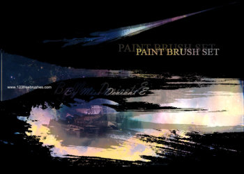 Paint Stroke Set 7