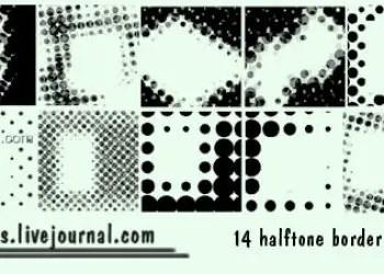 Halftone Borders