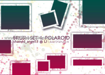 Hi-Res Blank Polaroid Frames