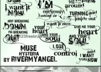 Muse Lyric Text