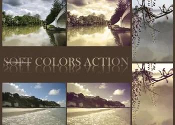 Soft Colors Effect Photoshop Action