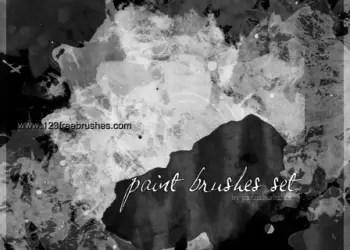 Paint Grunge Set