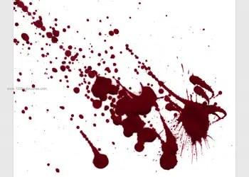 Blood Splatter 8