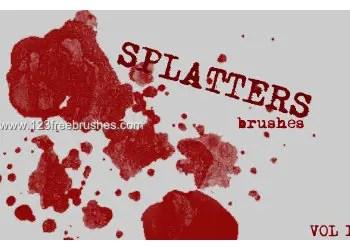 Ink Splatter Paint 113