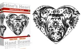 Vol.5 : Hand Drawn ValentineÆs Heart
