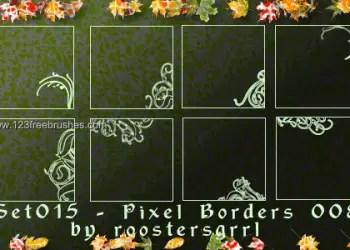 Ornate Border Corners 3
