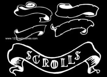 Scroll Banner Set 2